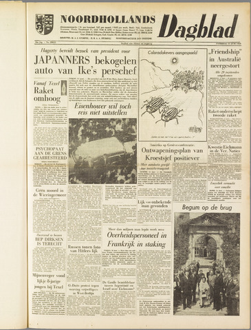 Noordhollands Dagblad : dagblad voor Alkmaar en omgeving 1960-06-11