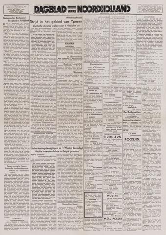 Dagblad Noord-Holland, Schager editie 1944-09-09