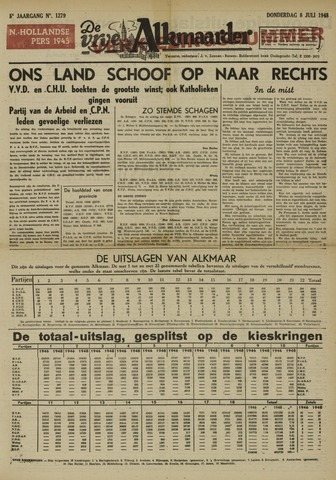 De Vrije Alkmaarder 1948-07-08