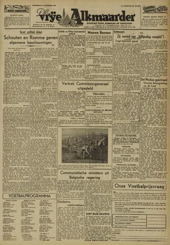 De Vrije Alkmaarder 1946-11-14