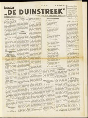 De Duinstreek 1951-01-05