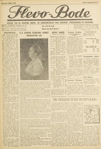 Flevo-bode: nieuwsblad voor Wieringen-Wieringermeer 1948-05-15