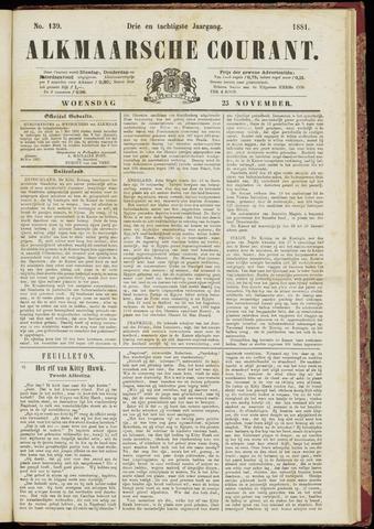 Alkmaarsche Courant 1881-11-23