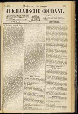 Alkmaarsche Courant 1900-09-02