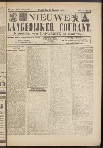 Nieuwe Langedijker Courant 1925-01-15