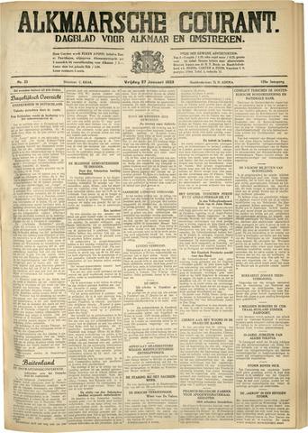 Alkmaarsche Courant 1933-01-27