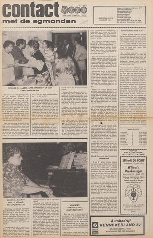 Contact met de Egmonden 1976-09-01