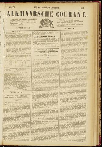 Alkmaarsche Courant 1883-06-27