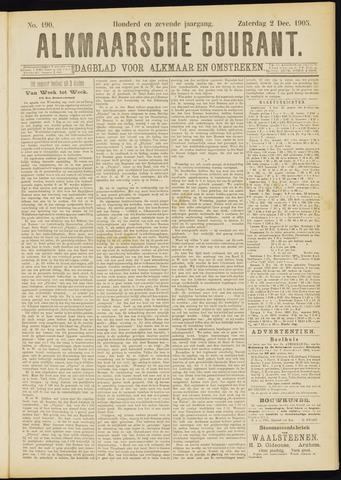 Alkmaarsche Courant 1905-12-02