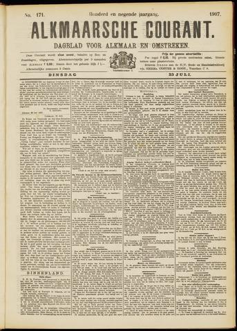 Alkmaarsche Courant 1907-07-23