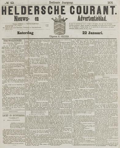 Heldersche Courant 1876-01-22