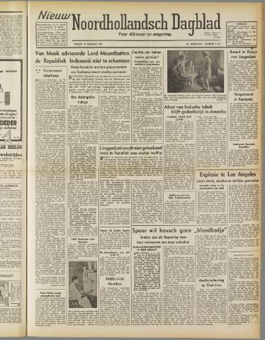 Nieuw Noordhollandsch Dagblad : voor Alkmaar en omgeving 1947-02-21
