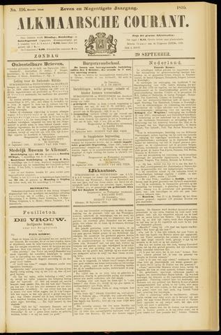 Alkmaarsche Courant 1895-09-29