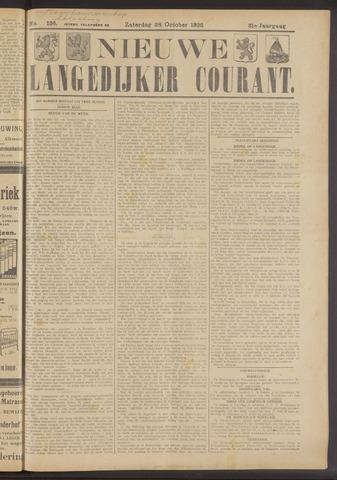 Nieuwe Langedijker Courant 1922-10-28