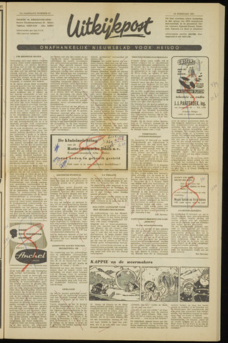 Uitkijkpost : nieuwsblad voor Heiloo e.o. 1961-02-16