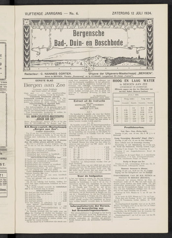 Bergensche bad-, duin- en boschbode 1924-07-12