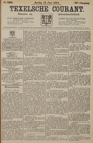 Texelsche Courant 1910-06-12