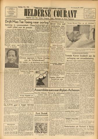 Heldersche Courant 1950-11-04