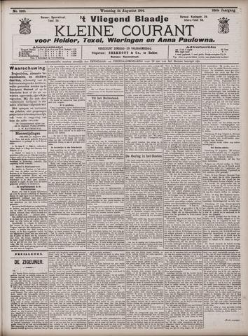Vliegend blaadje : nieuws- en advertentiebode voor Den Helder 1904-08-24