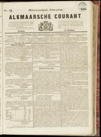 Alkmaarsche Courant 1861-10-13