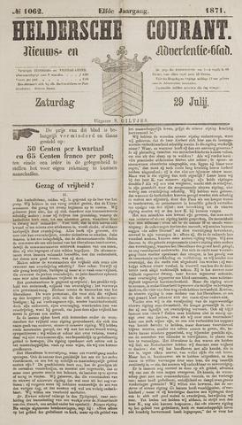 Heldersche Courant 1871-07-29