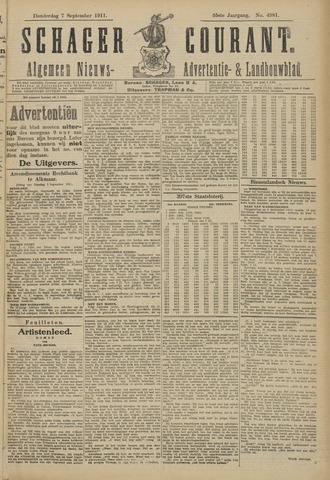 Schager Courant 1911-09-07