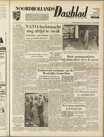 Noordhollands Dagblad : dagblad voor Alkmaar en omgeving 1953-09-01
