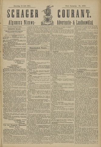 Schager Courant 1911-07-15