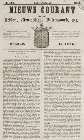 Nieuwe Courant van Den Helder 1864-06-15