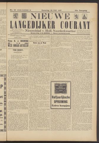 Nieuwe Langedijker Courant 1927-07-23