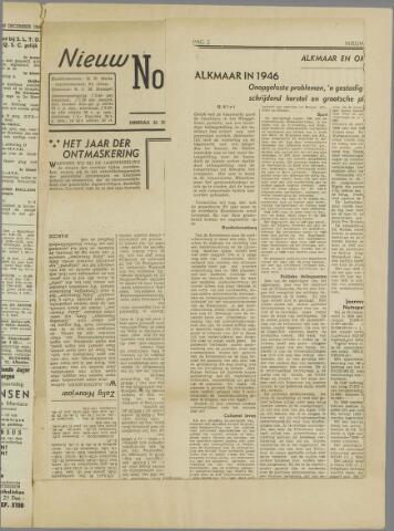 Nieuw Noordhollandsch Dagblad : voor Alkmaar en omgeving 1946-12-31