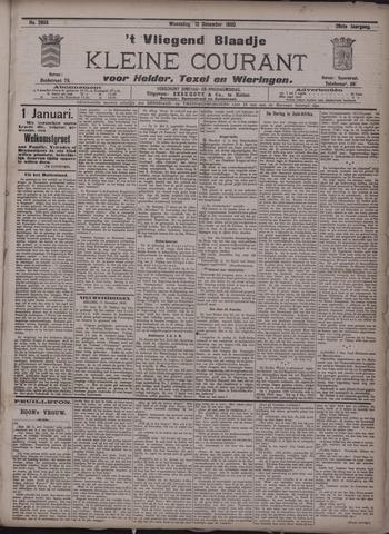 Vliegend blaadje : nieuws- en advertentiebode voor Den Helder 1900-12-12