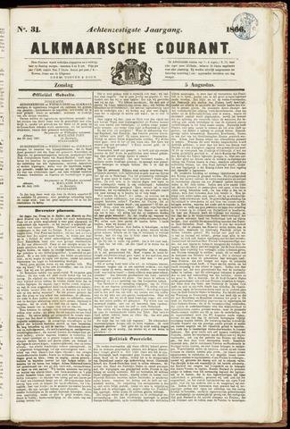 Alkmaarsche Courant 1866-08-05