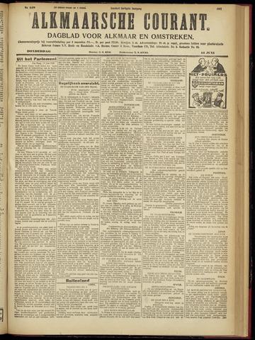 Alkmaarsche Courant 1928-06-14