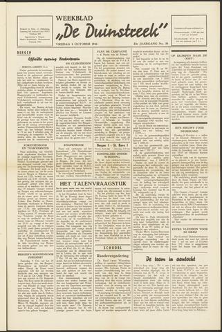 De Duinstreek 1946-10-04