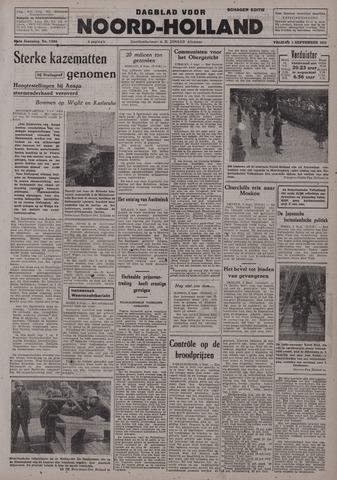Dagblad Noord-Holland, Schager editie 1942-09-04