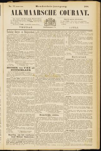 Alkmaarsche Courant 1898-07-01