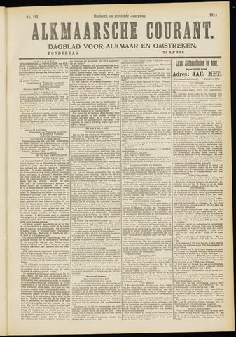 Alkmaarsche Courant 1914-04-30
