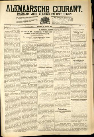 Alkmaarsche Courant 1937-01-18