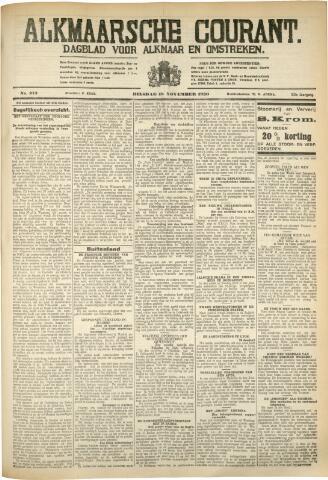 Alkmaarsche Courant 1930-11-18