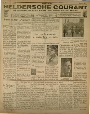 Heldersche Courant 1934-07-03