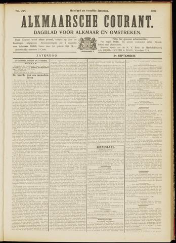 Alkmaarsche Courant 1910-09-24