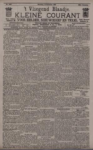 Vliegend blaadje : nieuws- en advertentiebode voor Den Helder 1895-09-18