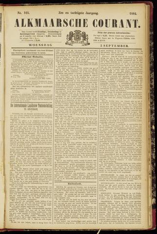 Alkmaarsche Courant 1884-09-03