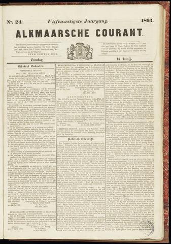 Alkmaarsche Courant 1863-06-14