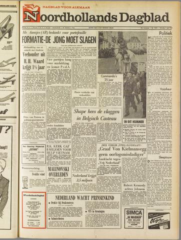 Noordhollands Dagblad : dagblad voor Alkmaar en omgeving 1967-04-01