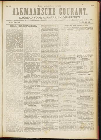 Alkmaarsche Courant 1917-11-07