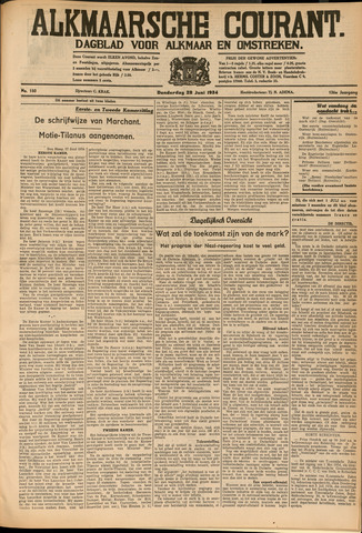 Alkmaarsche Courant 1934-06-28