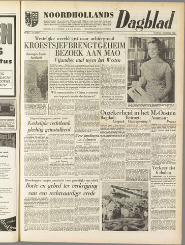 Noordhollands Dagblad : dagblad voor Alkmaar en omgeving 1958-08-04
