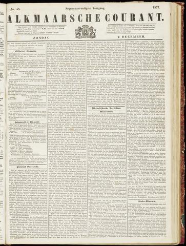 Alkmaarsche Courant 1877-12-02